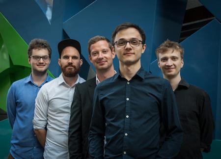 Vincent Eberle Quintett, Fotograf: Konni Kern